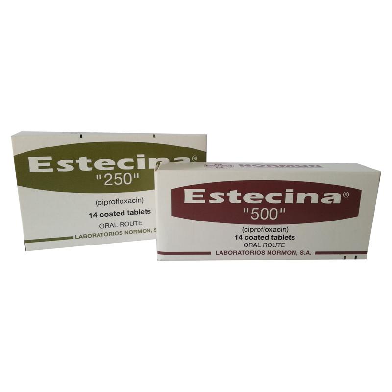Estecina 500 ciprofloxacin side